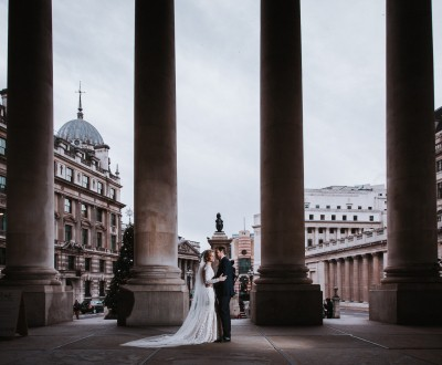 Amanda and Stewart Gibson Hall London wedding photos 09-12-2017 | Boutique wedding films and photography -
