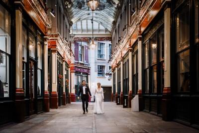 Wedding Videographers London - Amanda and Stewart Gibson Hall London wedding photos 09-12-2017 | Boutique wedding films and photography -