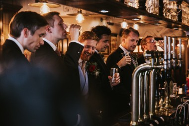 Caroline and Justin Landowne club wedding photos - Mayfair London - 21-10-2017 - Scott Miller photography and Boutique wedding films London