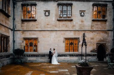 Hengrave Hall courtyard  wedding photos 10-11-2017 - Scott Miller photography and Boutique wedding films Suffolk